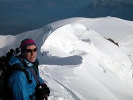 Mont Blanc avec Stéphane