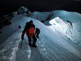 Mont Blanc avec Gaétan et Bernard