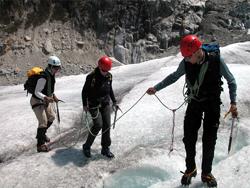 Formation glacier